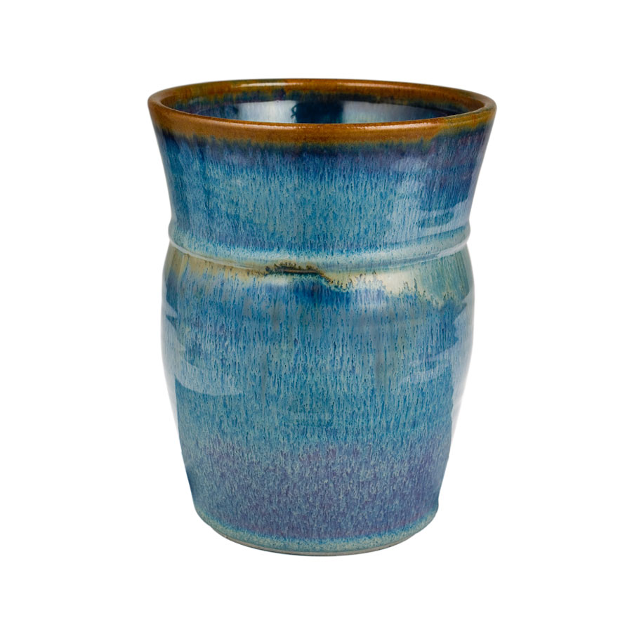 Utensil Jar – Aurora | Sunset Canyon Pottery
