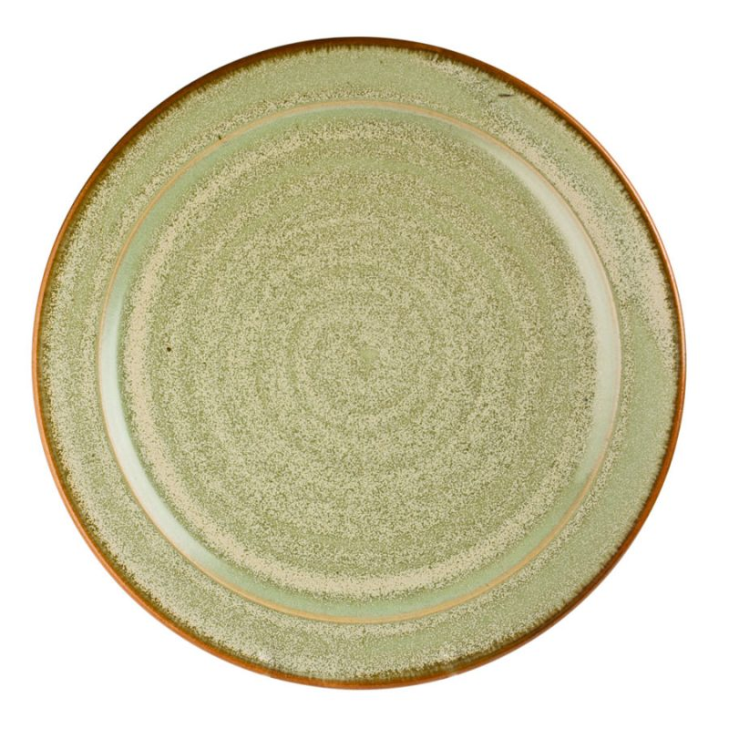 a large, mint green serving platter
