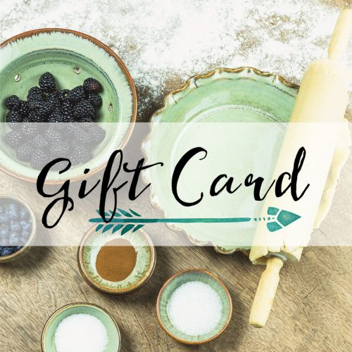 We offer gift cards you can use on our web site!